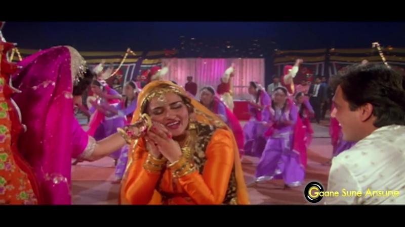 Mehndi Lagane Ki Raat Aa Gayi ¦ Kumar Sanu, Sadhana Sargam ¦ Aadmi Khilona Hai 1993 Songs ¦