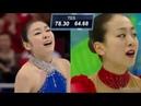 Yuna Kim vs Mao Asada - 2010 Free Skate 김연아 vs 浅田 真央