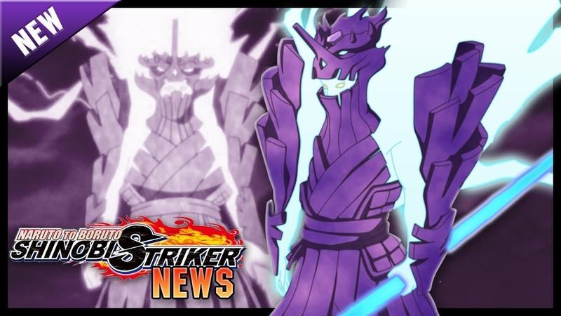 NEW SUSANOO GAMEPLAY!! HOKAGE COSTUME CAC GAMEPLAY!! A Shinobi Striker News Update