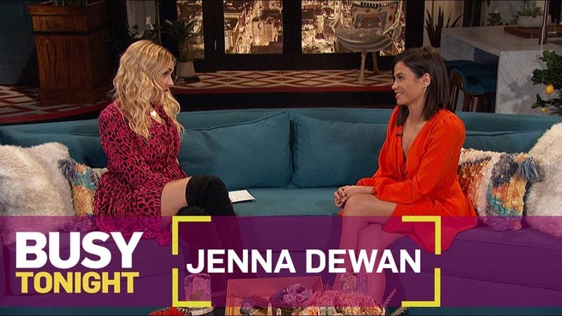 Jenna Dewan Explains How She Poses Nude | Busy Tonight | E!