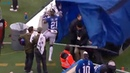 Landon Collins Angrily Punches Medical Tent on Sidelines With Trainers Still Inside