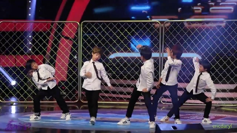 2015.7.25 Dragon Boys 龙拳小子 宝贝大赢家 模仿秀 防弹少年团《男子汉》BTS Boy In Luv.mp4