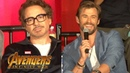 Avengers: Infinity War FULL press conference with cast, creative team, and host Jeff Goldblum