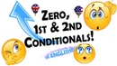 Conditionals - zero, first second conditionals | ENGLISH GRAMMAR VIDEOS