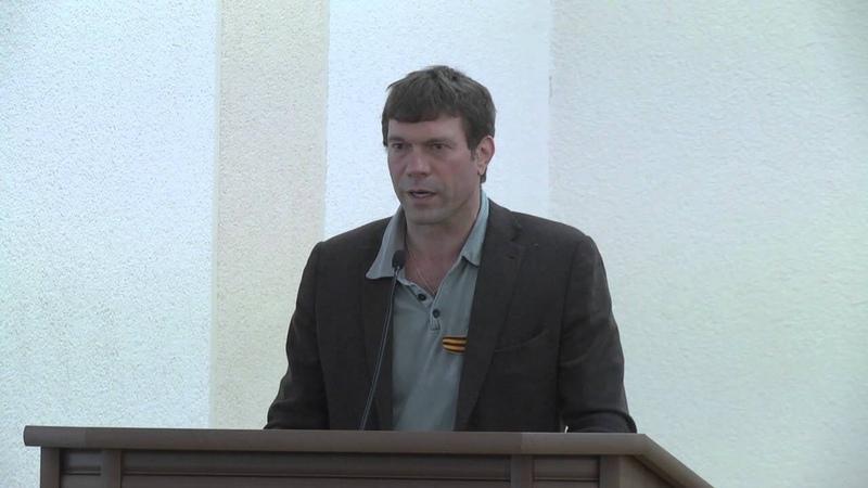 Народный депутат Олег Царев Луганск 5 мая 2014