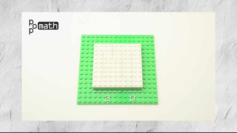 Работаем с квадратом суммы. В чём видимый смысл происходящего?