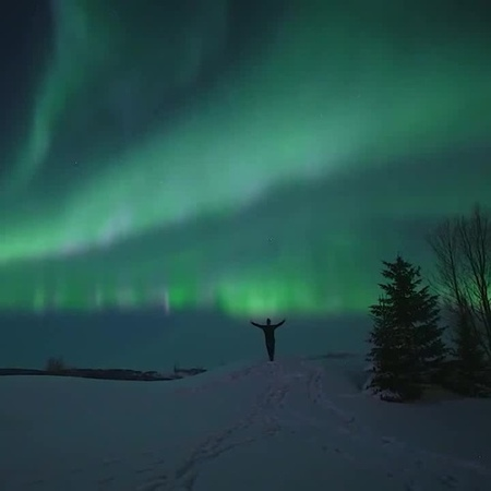 Aurora in Norway ♥ coub