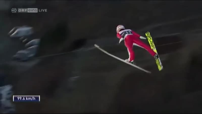 Самый длинный лыжный прыжок⛷