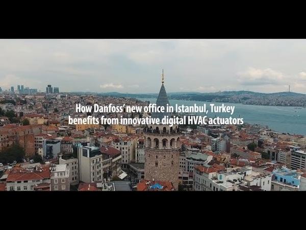 NovoCon case story – Smart HVAC solution for Danfoss office in Istanbul, Turkey