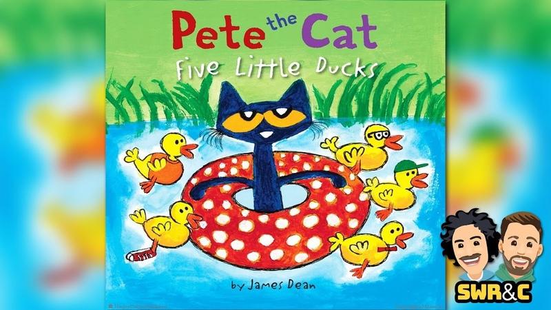 CHILDREN'S BOOK   Pete The Cat Five Little Ducks by James Dean   READ ALOUD