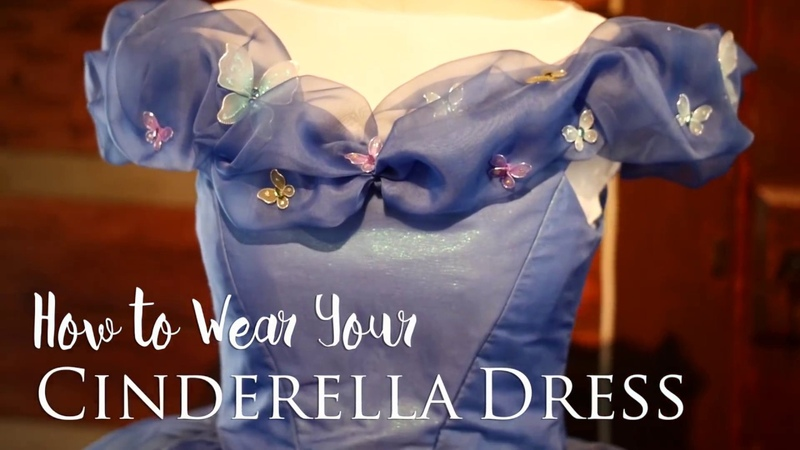 How to Wear Your Cinderella Dress ~ Bella Mae's Designs