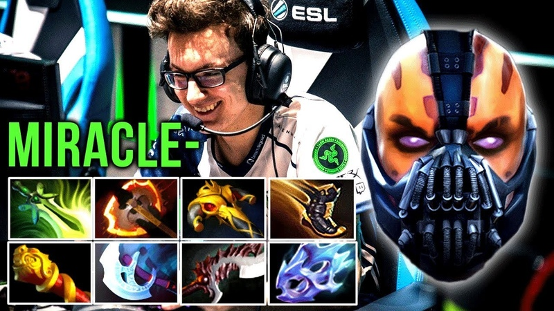 Miracle- What A Beast! 8-Slotted Anti-Mage Back In Meta? - Dota 2