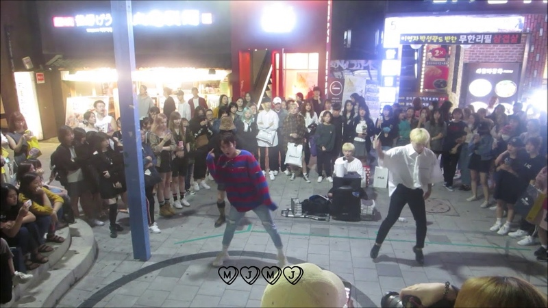 180911 DOB Ikon - 주겠다 (Killing Me) - Hongdae Busking