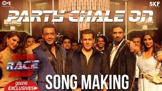 Party Chale On Song Making - Race 3 Behind the Scenes   Salman Khan   Mika Singh, Iulia Vantur