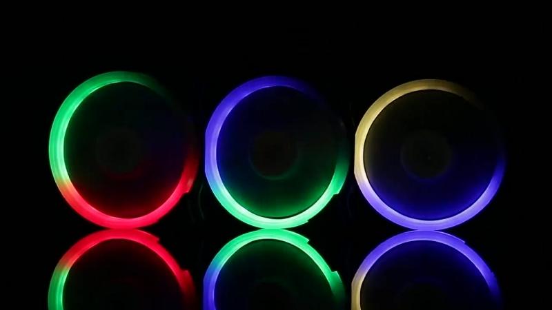 Кулер Aigo с RGB подсветкой 120мм