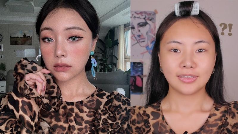 [ENG/中字] 말JOLLA많음 주의) 🐆가을 완전체 빈티지 메이크업 🍁:: Fall Makeup Look with subs 조효진(Hyojin)