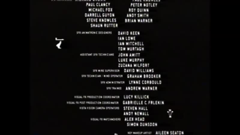 Movie End Credits 156 The Mummy