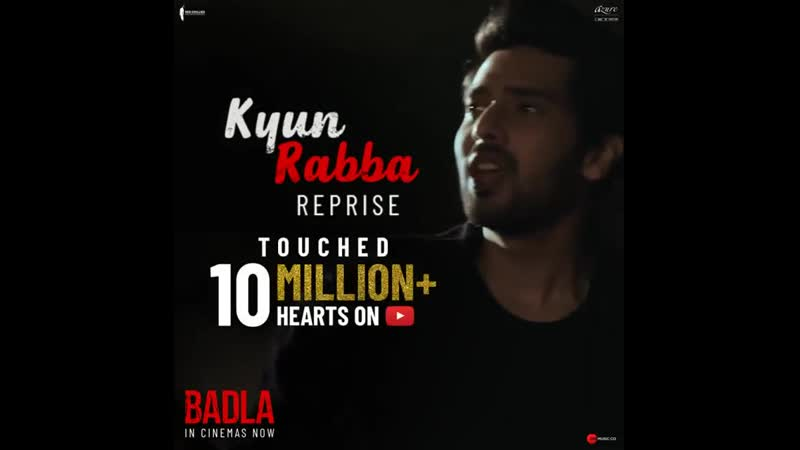 10 Million Views for Kyun Rabba Reprise