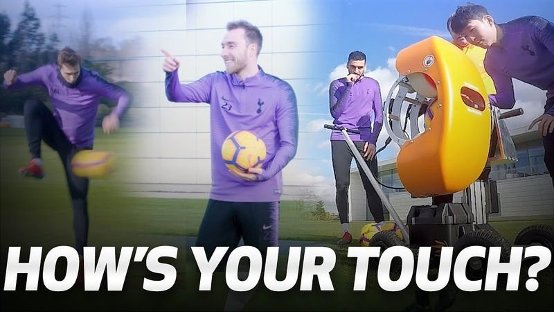 HIGH-SPEED BALL CANNON | HOW'S YOUR TOUCH? | Ft. Sonny, Eriksen, Llorente Gazzaniga