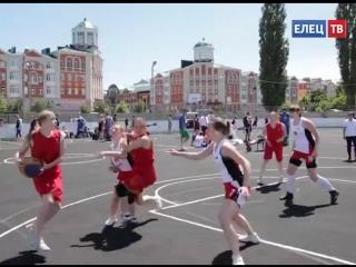 Впервые в Ельце прошёл межрегиональный турнир по стритболу ассоциации студенческ