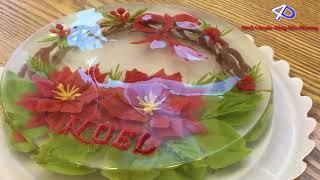 Phù Thủy Phương Nga tuyền bí kíp làm Thạch Rau Câu 3D NOEL cực dễ thương