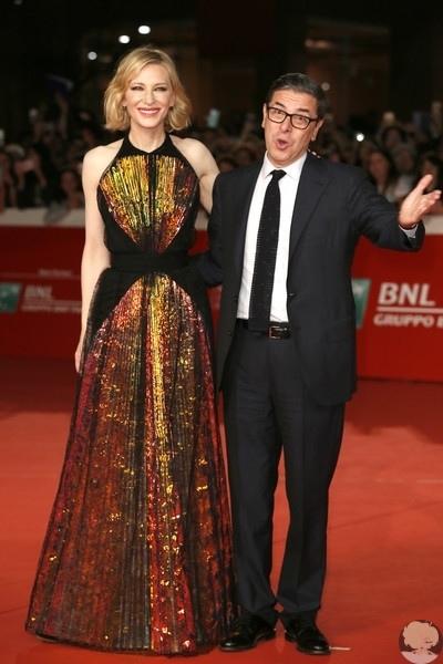 """Кейт Бланшетт посетила премьеру фэнтези фильма """"Тайна дома с часами"""" в рамках 13th Rome Film Fest"""