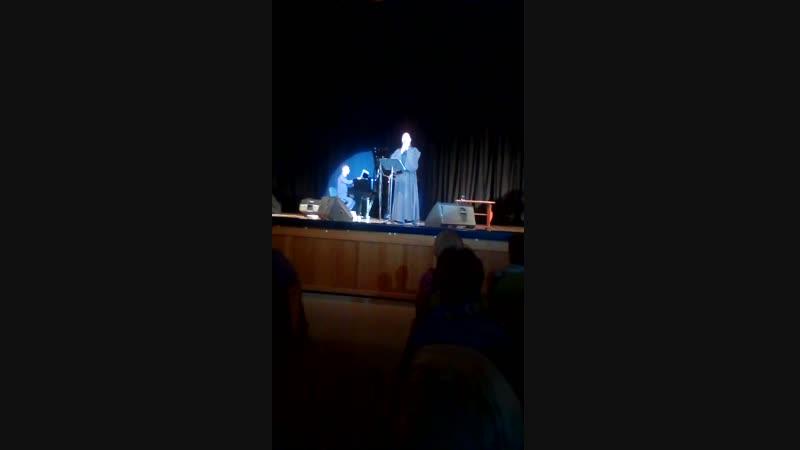 Концерт о.Фотия в Белгороде 23.10.2018. Вступительное слово (видео Лидии Ив)