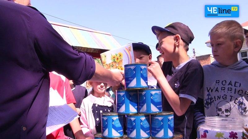 Под ритмы буги вуги в Березне прошел феерический праздник детей