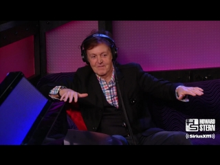 Howard Stern sits down with Sir Paul McCartney only on SiriusXM