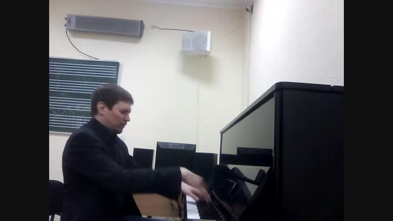 С.В.Рахманинов. Концерт №3, 1 часть. (Партия фортепиано