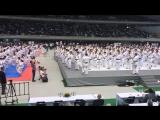 Традиционная разминка перед чемпионатом Японии