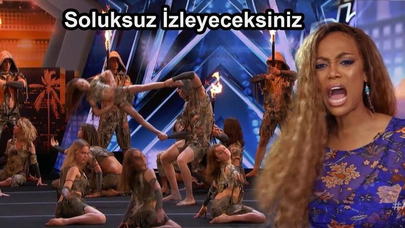 Vahşi Akrobasi Grubu Süper Performans İle Altın Vuruşu Aldı Yetenek Sizsiniz Amerika Türkçe Altyazı