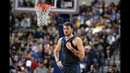 Luka Doncic Hits Josh Hart With Classic Step-Back 3-Pointer