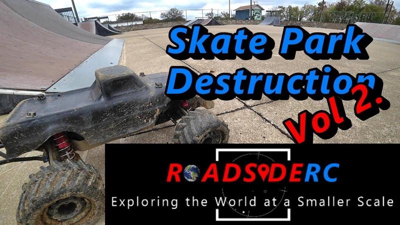 RC Skate Park Destruction - Vol 2