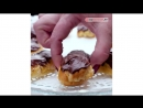 Эклеры с масляным кремом и шоколадной помадкой    Больше рецептов в группе Кулинарные Рецепты