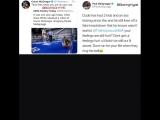 Конор МакГрегор отправляет в нокдаун экс-чемпиона мира по боксу на спарринге