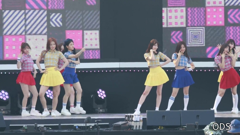 180724 프로미스나인(Fromis_9) 소녀시대의 오(oh) 전체 리허설 - 더쇼 영덕특집 공개방송