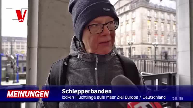 SEENOTRECHT MISSBRAUCH - flutet immer mehr Flüchtlinge nach Deutschland