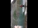Купание в Софийских озёрах среди снега на высокогорье в Архызе