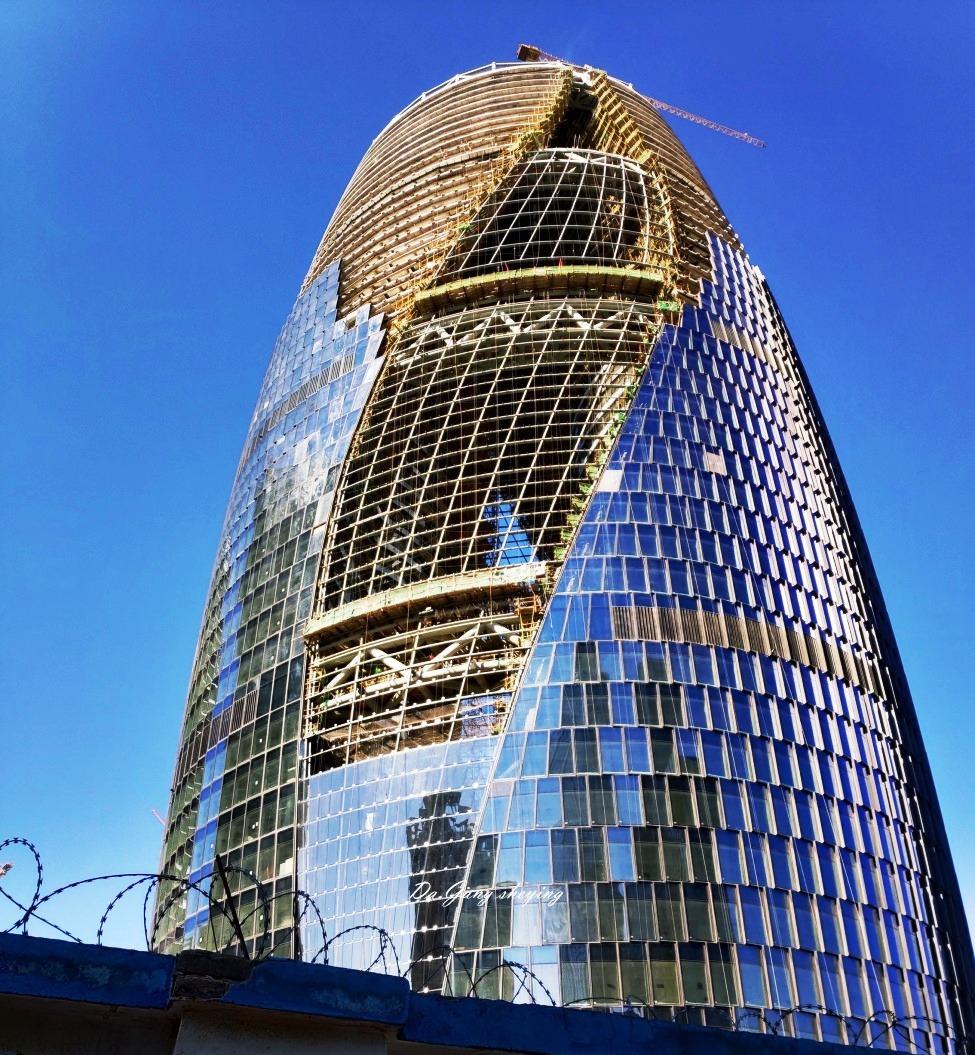 В Пекине ведется строительство здания с самым высоким атриумом в мире
