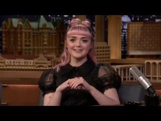 Maisie Williams_The Tonight Show Starring Jimmy Fallon