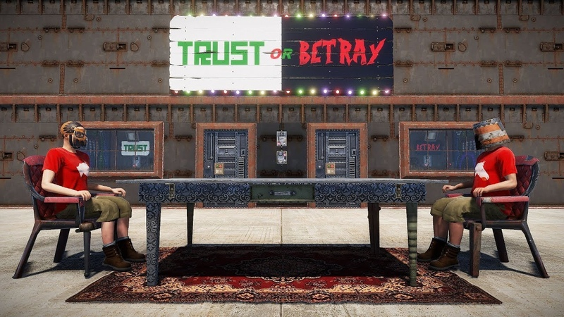 A GAME of TRUST in RUST - Trust or betray (New electricity system)