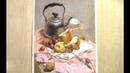 Gouache Painting of Stil Life