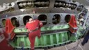 ЗАМЕНА КОЛЕНВАЛА весом 7 5 тонн в круизном судне