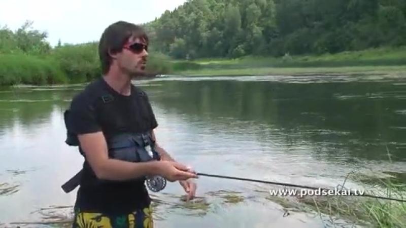 Рыболовная школа. Ловля голавля на мелководье. Часть 2