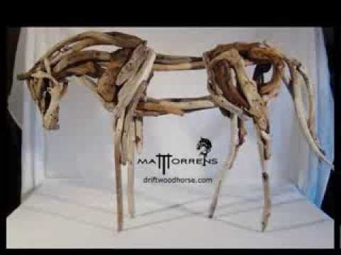 Driftwood horse the making of Matt Torrens