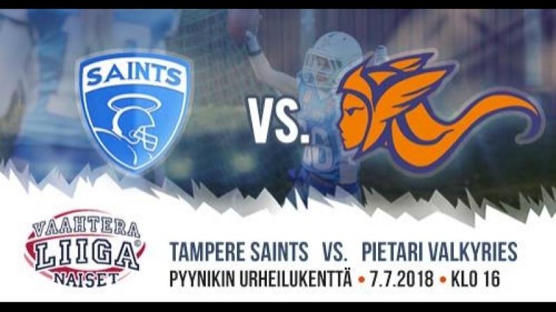 Highlights St. Petersburgh Valkyries vs Tampere Saints Naiset