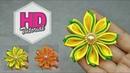 DIY Cara Membuat Bunga dari pita HD Tutorial