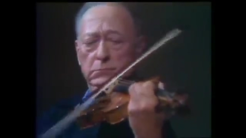Jascha Heifetz - J.S. Bach. Chaccone d-moll from Partita №2 for violin solo BWV 1004