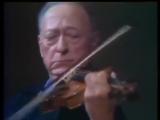 Jascha Heifetz - J.S. Bach. Chaccone d-moll from Partita №2 for violin solo BWV 1004